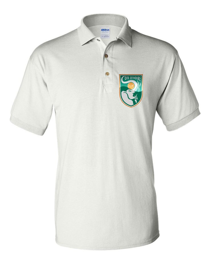 Polo Soccer T-shirt Cote D'ivoire