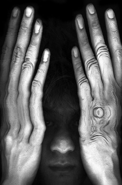 """""""What is the past but what we choose to remember?"""" ― Amy Tan, The Bonesetter's Daughter (long fingers (scanography) by chaweemek, via Flickr)"""