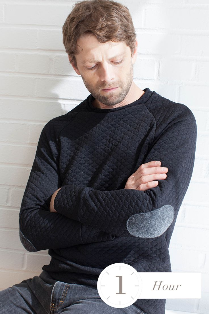 paxson- raglan sweater without douchy elbow patches