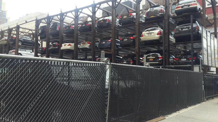 Parking being taken care of