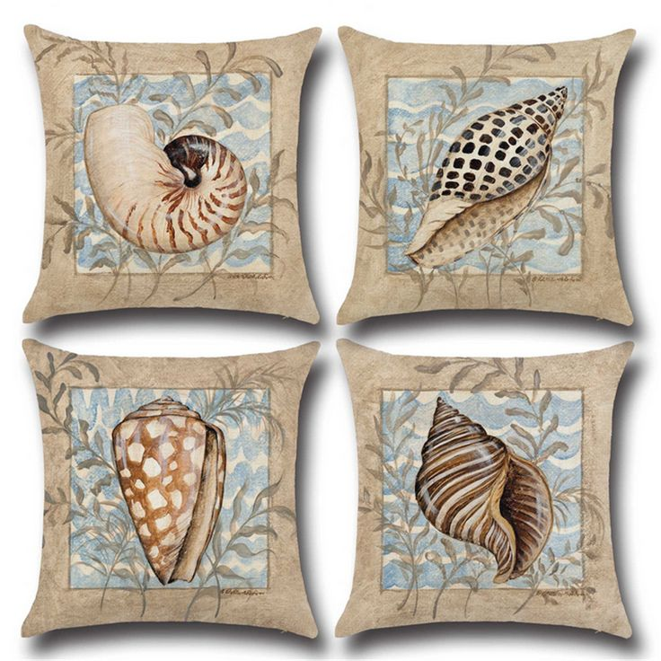 Blue Simple Mediterranean Linen Cotton Nordic Vintage Home Decor Office Chair Cushion Sofa Decorative Throw Pillow 45x45cm d246 #Affiliate