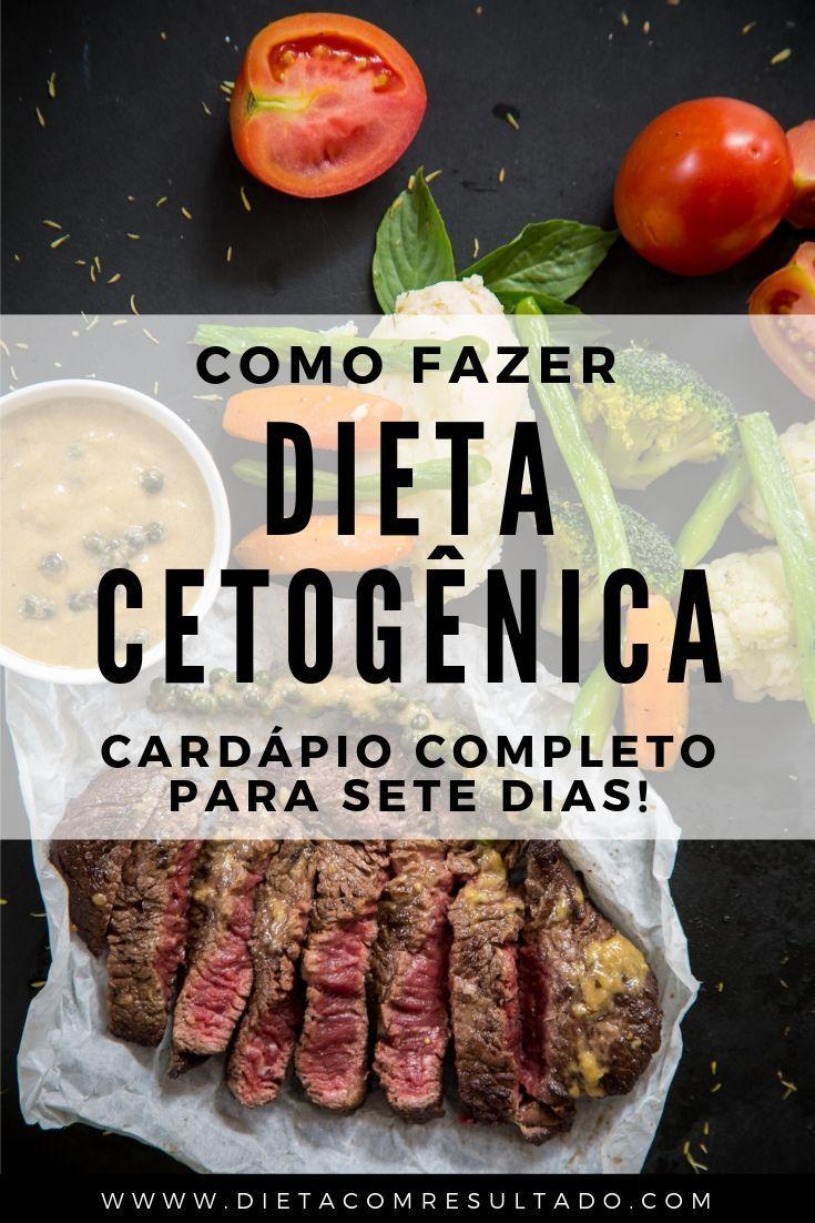 Dieta Cetogênica - Cardápio Completo Para 7 Dias em 2020..