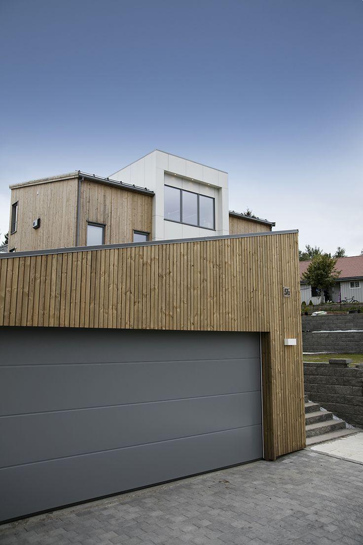 Moderne hus med MøreRoyal®-kledning