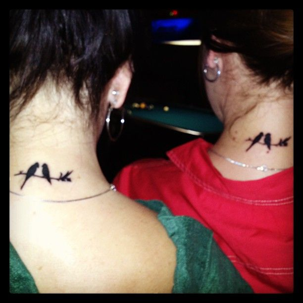 Matching best friends tattoos