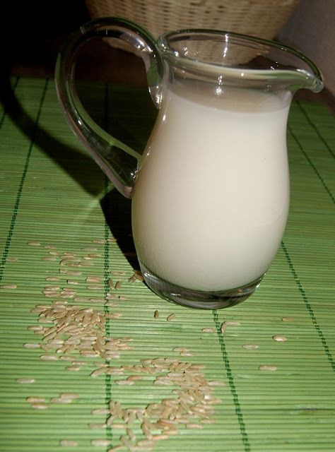 Domowe mleko ryżowe