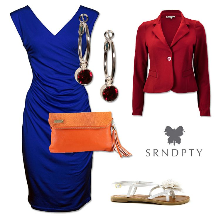 Styletip met jurk Rosie   http://www.dressesonly.nl/jurk-rosie-kobalt-srndpty.html   #SRNDPTY