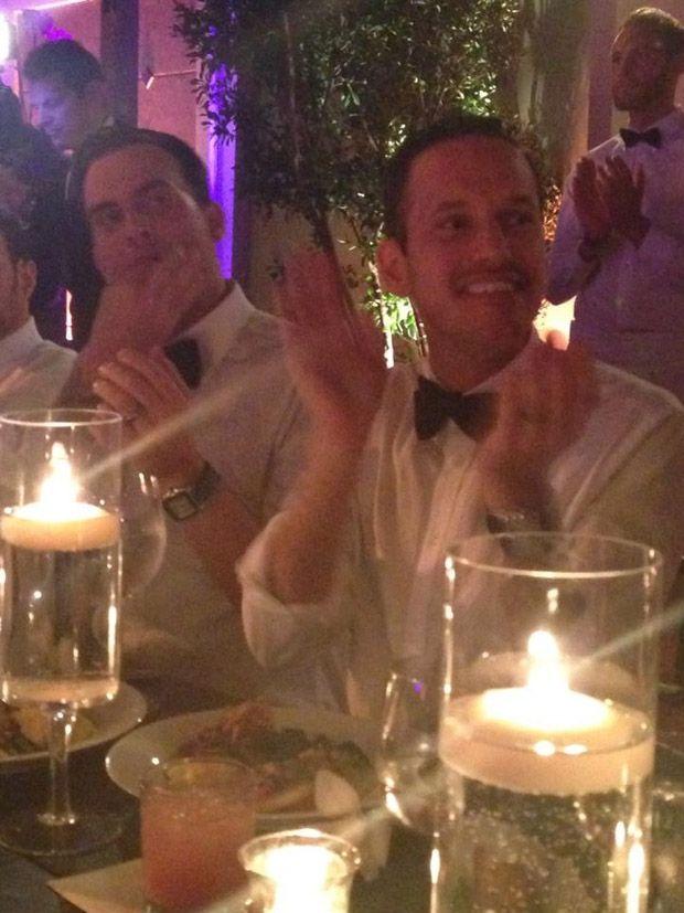 John gidding damian smith wedding cakes