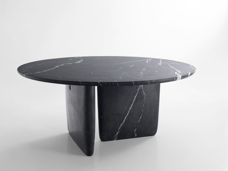 New marble versions of the Tobi-Ishi table by Edward Barber & Jay Osgerby! #LondonDesignFestival