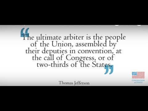 The Purpose of Article V Convention of States