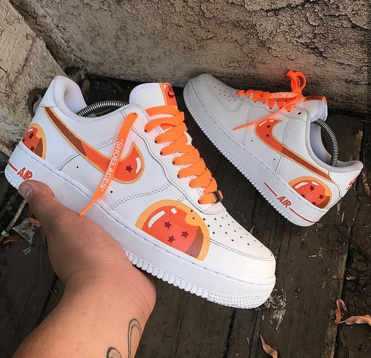Cop or drop these custom painted dragon ball nike AF1's?