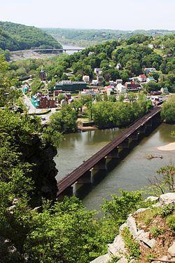 Appalachian Trail, Harpers Ferry, West Virginia