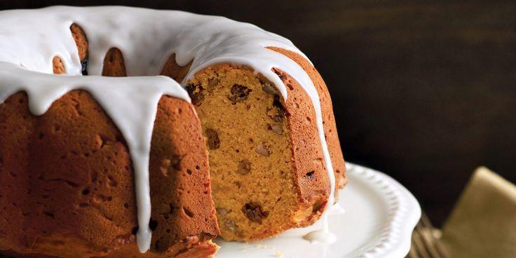 Pumpkin & Rum-Raisin Cake
