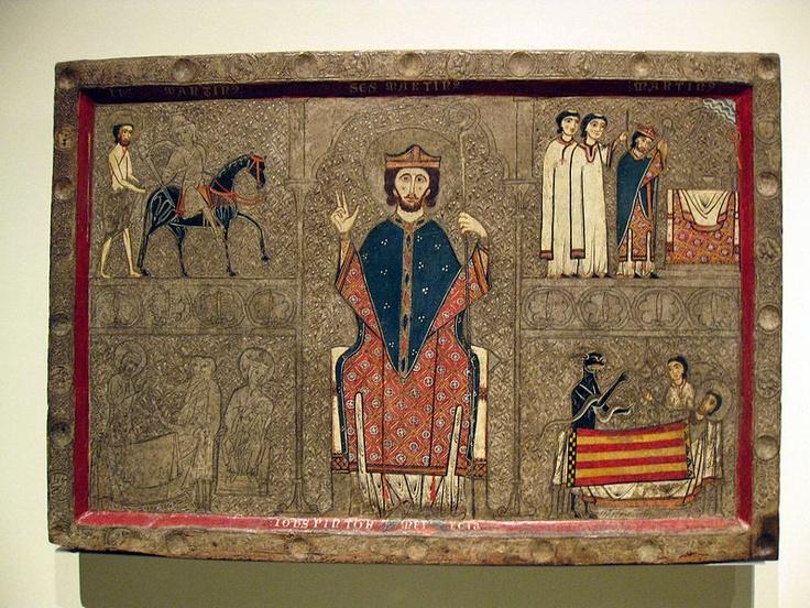 Frontal d'altar de Sant Martí de Gia