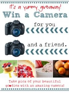 Canon Camera Giveaway for You and a Friend!