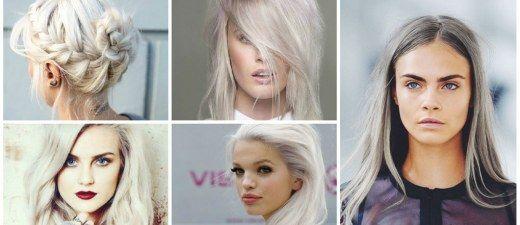 Le gris est-il le nouveau blond ? A en croire les mannequins et les stars, il semblerait que OUI ! Aperçu sur les défilés et dans la rue...