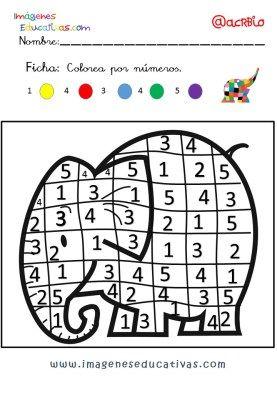 Elmer Elefante atención y grafo (6)