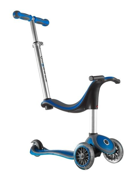 Globber 4-in-1 Scooter - Blue