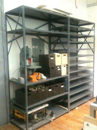 Metal Shelving System