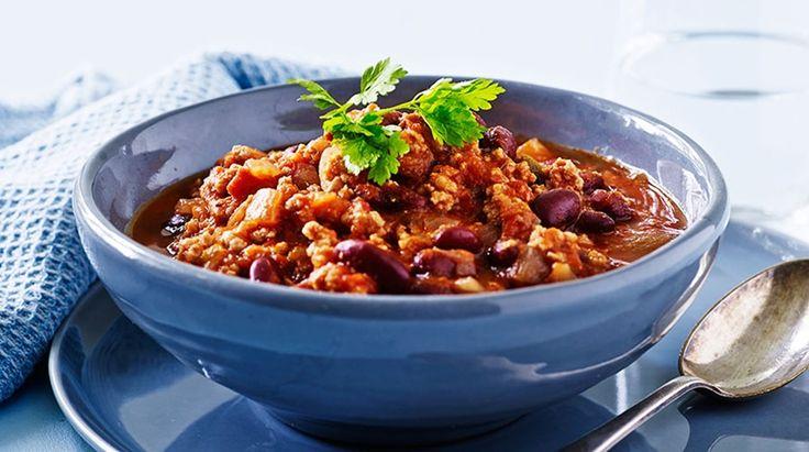 Chili con carne som slankeret