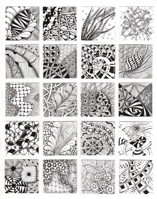 #Zentangle - went to a class on this today - incredible