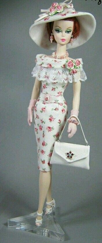 Silkstone BArbie in flower dress