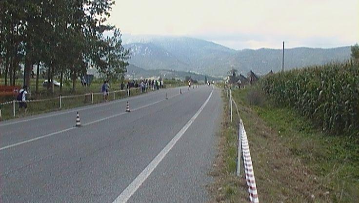 Tratto di strada lungo 400 mt  ove si sfideranno i motociclisti
