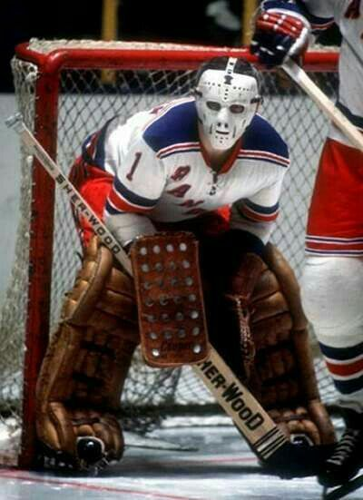 Ed Giacomin | New York Rangers | NHL | Hockey