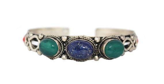 Lapis Jade bracelet Tibet bracelet Tibetan bracelet Nepalese Bracelet nepal bracelet boho bracelet bohemian bracelet hippie bracelet 0000