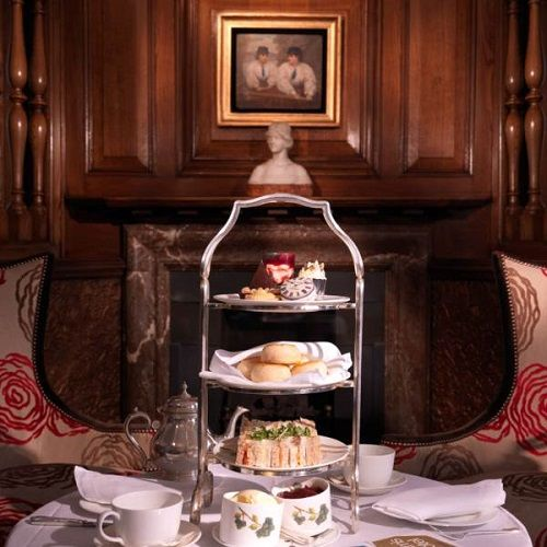 Take tea at Browns Hotel, London, visited for tea by Queen Victoria and Agatha Christie, a frequent visitor based one of her novels At Bertram's Hotel here.
