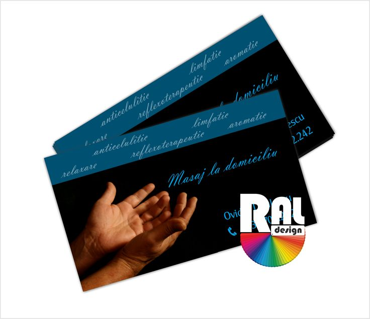 Cărți de vizită | RAL Design