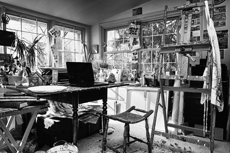 Holly O Art Studio www.hollyo.ca - By Francine Bayley