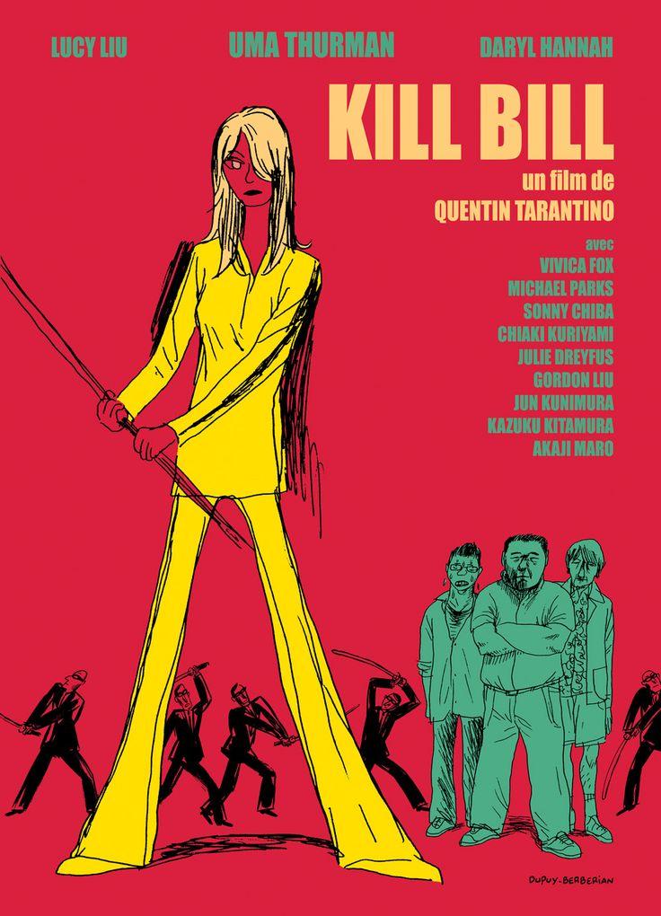 Movie Poster Movement — Kill Bill by Dupuy & Berberian