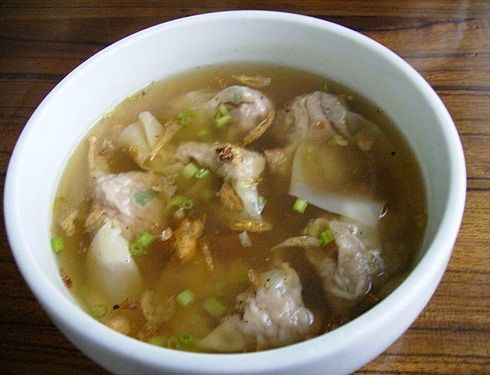 Chinese Wonton Soup Recipe | Best Food Recipes | Pinterest