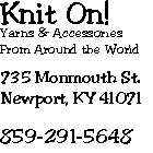I love this yarn store! I love everything about it!