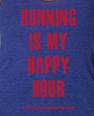 I love running.