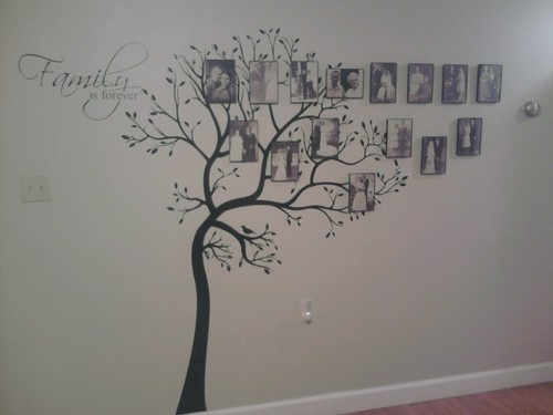 Best Family Tree Decals Images On Pinterest Family Tree Decal - How to put up a tree wall decal