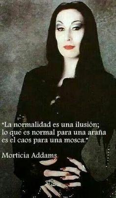 Esta frase de Morticia Addams, personaje creado por el caricaturista Charles Addams y personificado en la imagen por Anjelica Huston, pone en claro muy gráficamente que dos participantes en la mi...