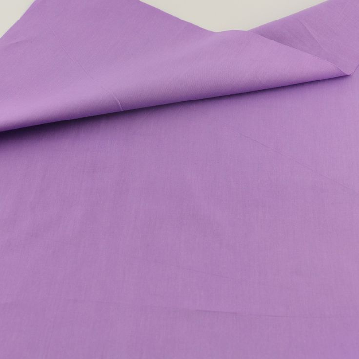 Purple Cotton Fabric Bedding Decoration Teramila Fabrics Tissue Home Textile Patchwork Quilting Sewing Cloth Craft Solid Color