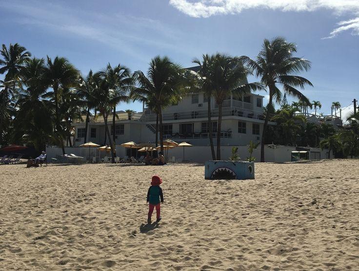 Boende vid stranden i Ocean Park Puerto Rico