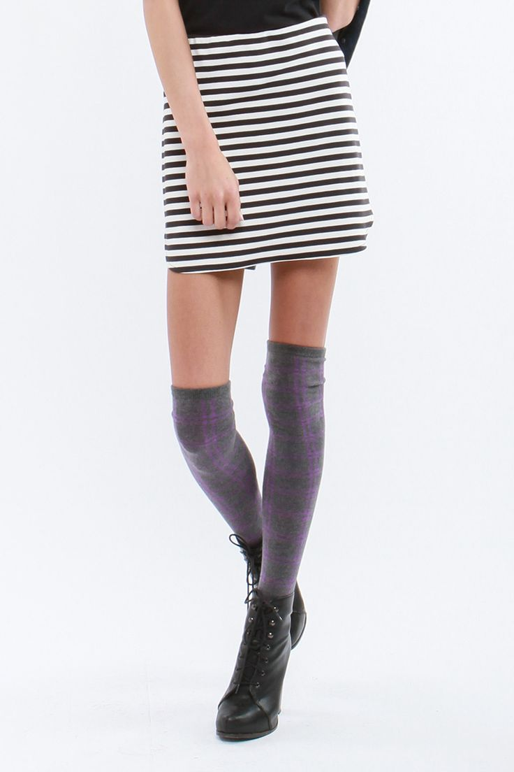 Nautical stripe skirt. S-24930