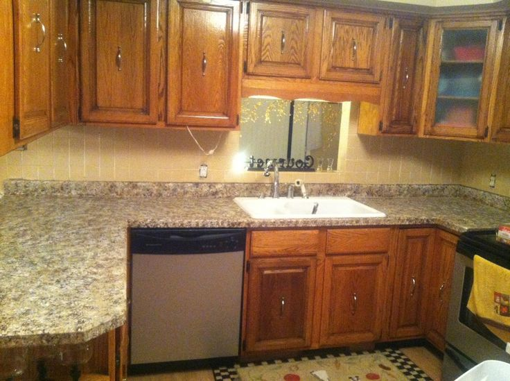 41 best kitchens images on pinterest kitchens home for Best way to clean granite kitchen countertops