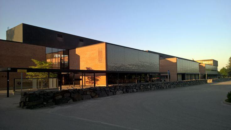 #UEF #Aurora building in Joensuu, Finland