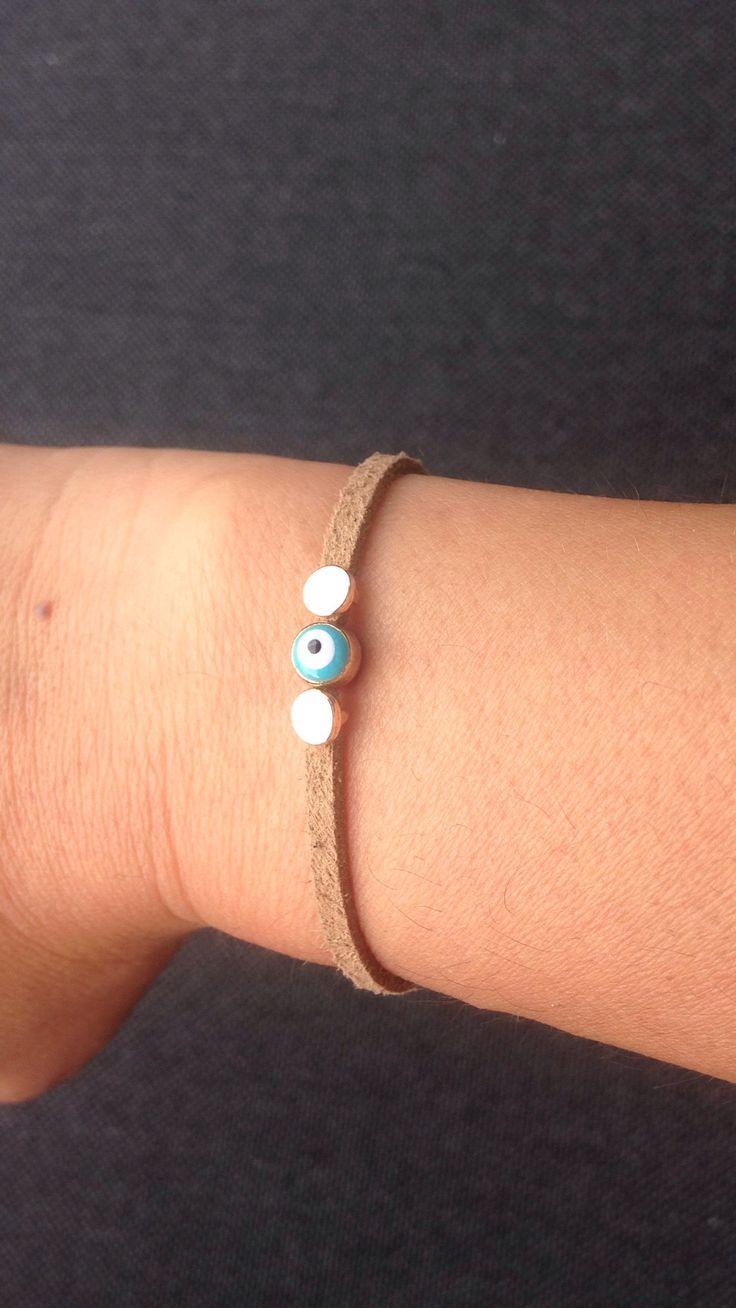 """Suede bracelet """"Cornus"""""""