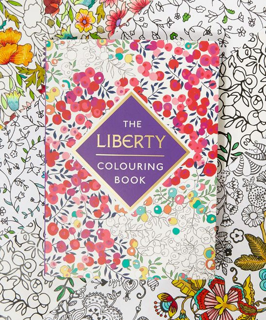 Flowers of Liberty The Liberty Colouring Book | Stationery | Liberty.co.uk