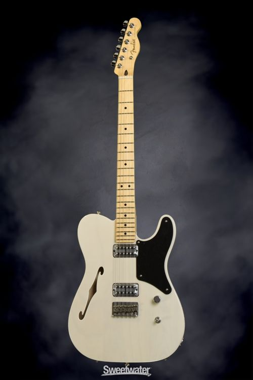 best images about telecasters fender custom shop fender cabronita telecaster thinline white blonde sweetwater com solidbody electric guitar