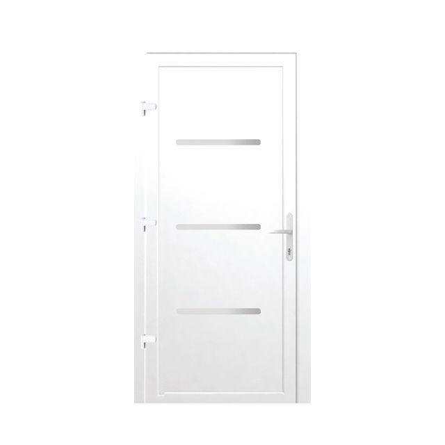 1000 id es sur le th me porte entree pvc sur pinterest porte d entree pvc - Castorama porte d entree ...