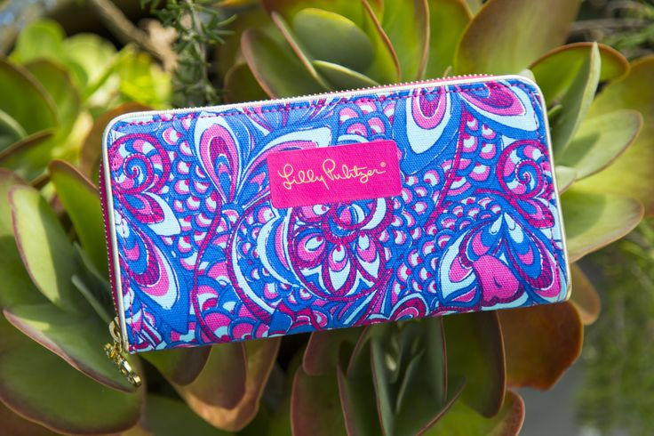 Lilly Pulitzer Change It Up Continental Wallet