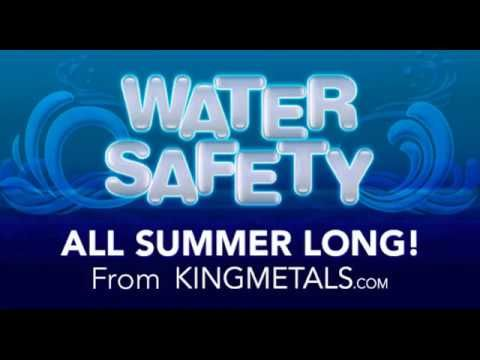 """At King Metals, we believe that """"Water Safety"""" is not something to be aware of for just one month, but all Summer long.  That's why we carry an assortment of fence panels, posts, accessories, and safety latches to help you make your pool as safe for the little ones as possible.  See all of our fence panels at: http://www.kingmetals.com/HTML/FencePanelWidget/index.html  And our gate hardware at: http://www.kingmetals.com/Catalog/Catalog.aspx?CatalogId=c39&CatalogDetailId=162&NSM=Y today!"""
