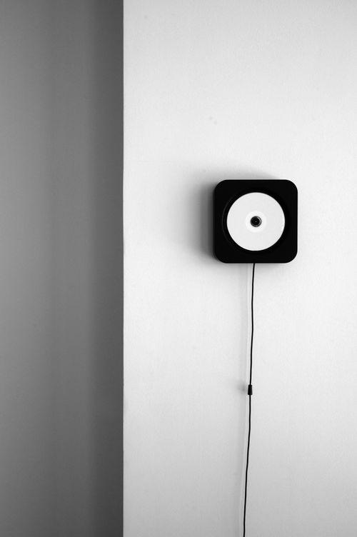 Wall mounted CD Player: NAOTO FUKASAWA DESIGN for MUJI