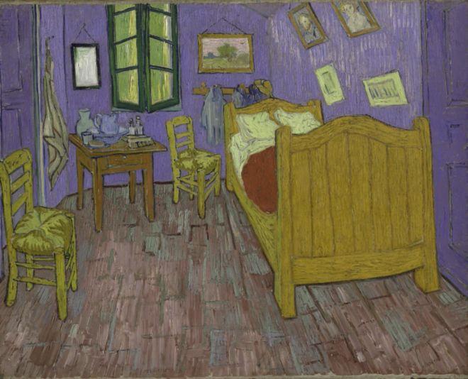 Van Gogh's bedroom gets digital makeover Paragon Monday Morning LinkFest